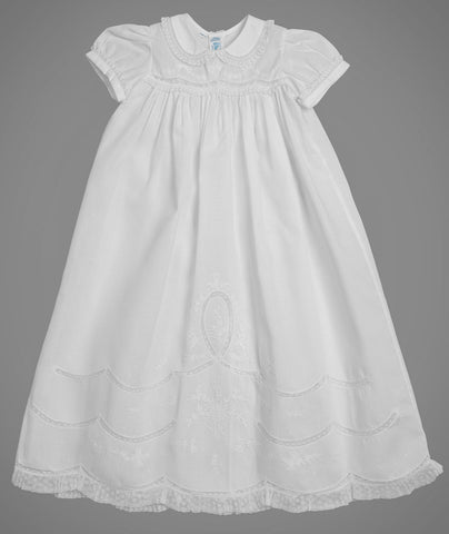 Girl's Gown w Center Oval 5978 Feltman Brothers
