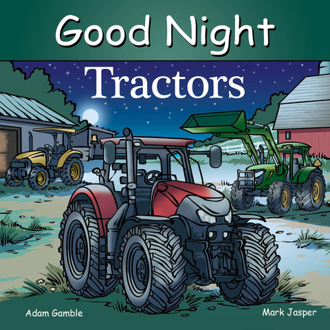 Good Night Tractors Book