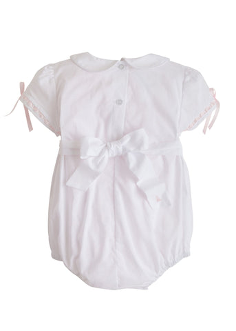 Charlotte Smocked Bubble Little English