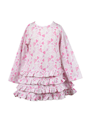Hadley Heart Twirl Dress The Proper Peony