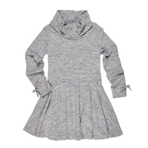 Heather Gray Knit Dress Florence Eiseman