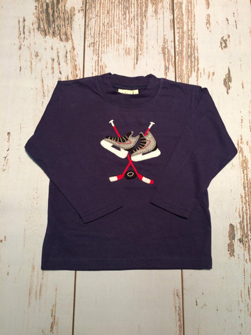 Hockey Sticks L/S Tee Luigi Kids