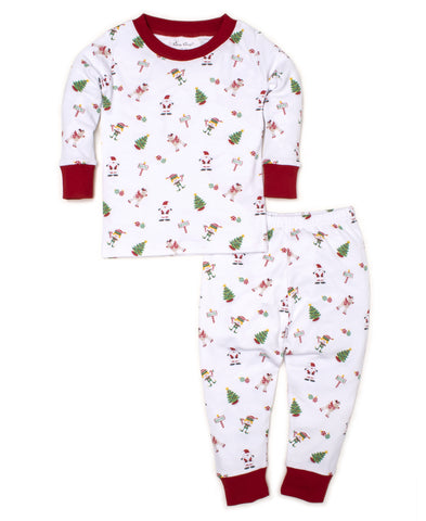 Holidaze 2pc Pjs Toddler Sizes Kissy Kissy
