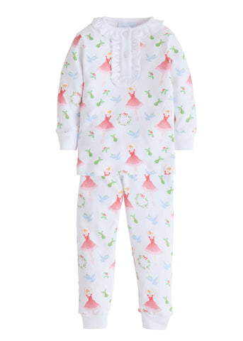Holly Jolly Ballerina Jammies Little English