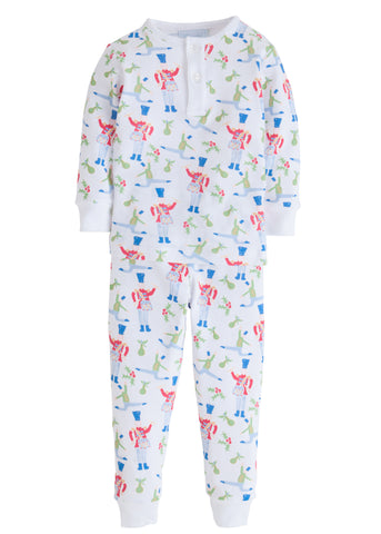 Holly Jolly Drummer Jammies Little English