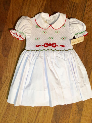 Bows & Hollies Smocked Dress Little Threads