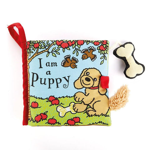 I Am A Puppy Activity Book Jellycat