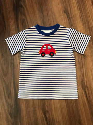 Car Applique S/S Tee Zuccini Kids