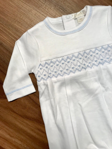CLB Summer Smocked Boy Footie