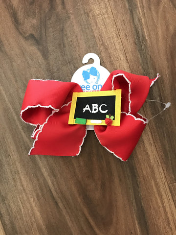 Chalkboard ABC Bow Bows for Belles