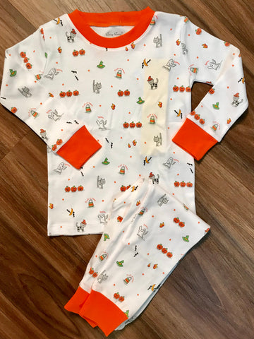 Bewitched 2pc Pj Month Kissy Kissy