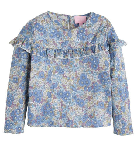 Benny Floral Emily Top Bisby Kids