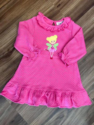 Fairy L/S Ruffle Dress Luigi Kids