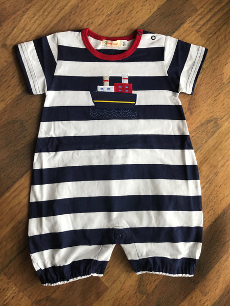 Ship Short Romper Luigi Kids