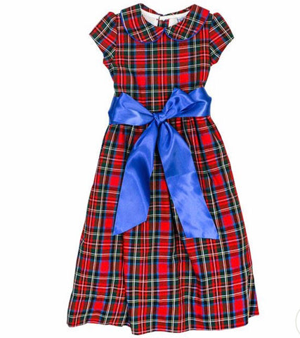 Wales Plaid Empire Dress The Bailey Boys