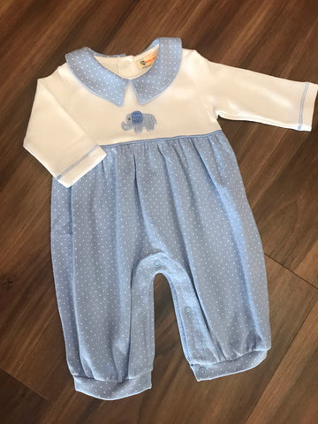 Crochet Elephant Boy Romper Luigi Kids