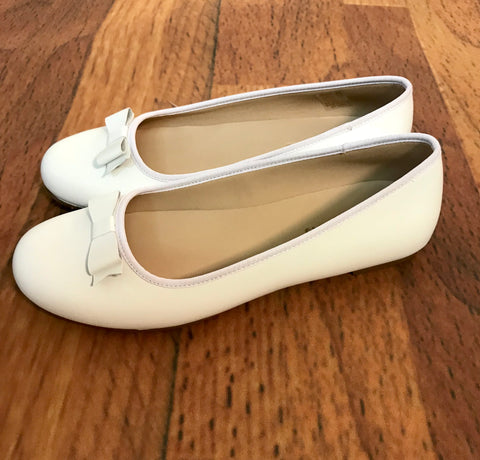Camille Flats White