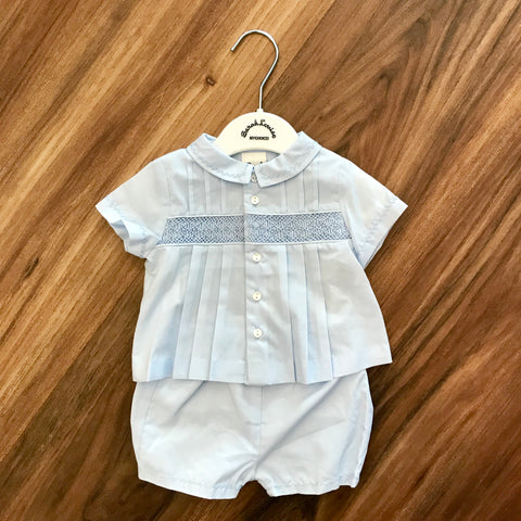 Boy's 2pc Diaper Shirt Set Sarah Louise
