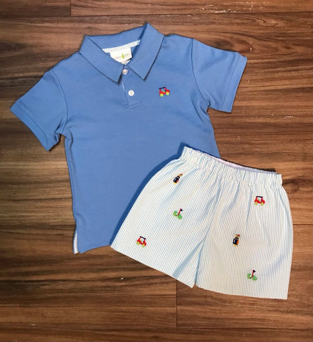 Golf Boys Shorts Set Zuccini Kids