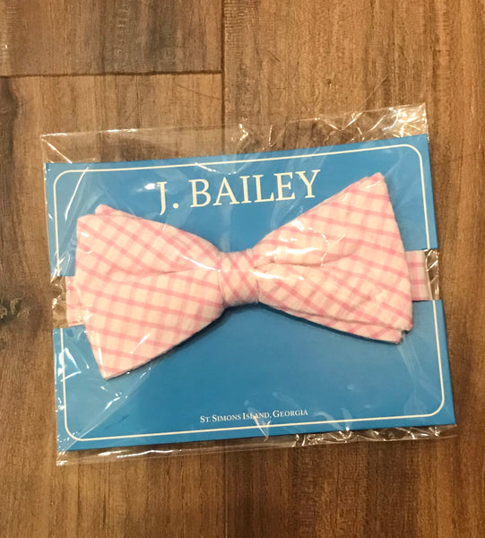 Windowpane Bow Tie The Bailey Boys