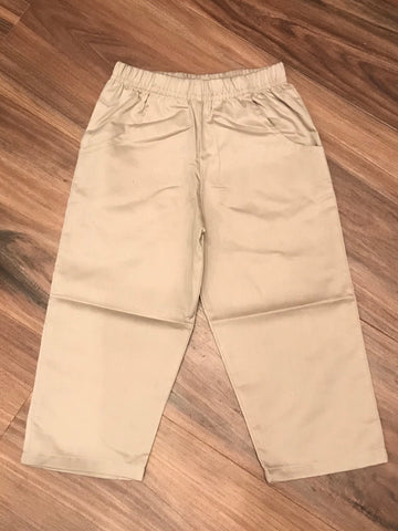 Twill Child Pants w/Pockets Luigi Kids