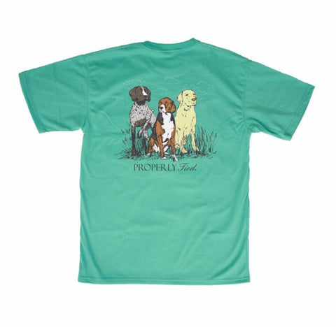 Triple Dog S/S Tee Properly Tied