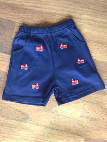 Firetruck Emb. Shorts w/Pockets Luigi Kids