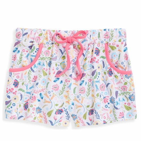 Parisienne Floral Pima Shorts Bella Bliss