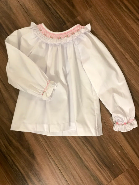 Hollies Smocked Blouse Zuccini