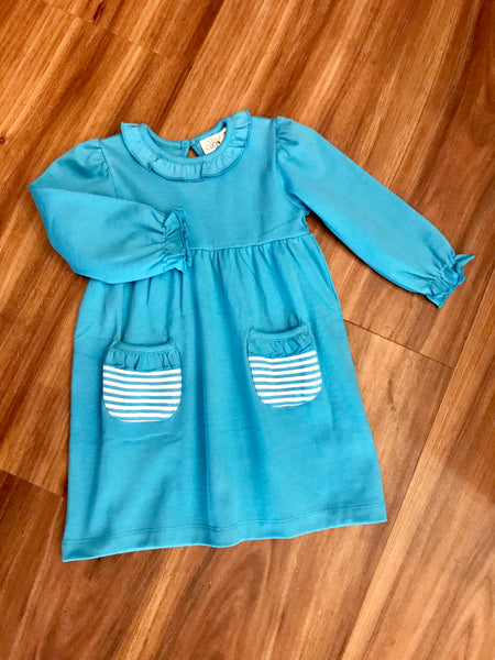 L/S BB Dress w/Pockets Luigi Kids
