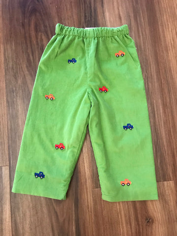 Pickup Embroidered Cord Pants Zuccini