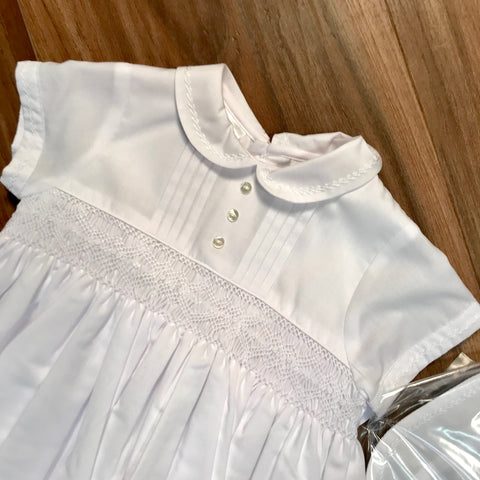 Christening Gown w/Hat Sarah Louise