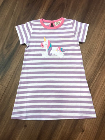 Unicorn Stripe Dress Luigi Kids