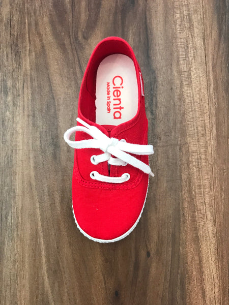 Canvas Tennis Shoe Cienta