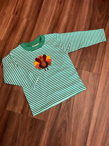 Turkey Applique Tee Luigi Kids