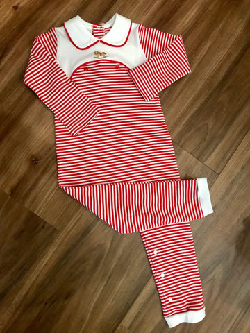 Holiday Rocking Horse Romper Squiggles