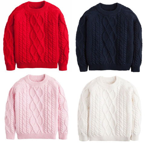Cable Knit Sweater Little English