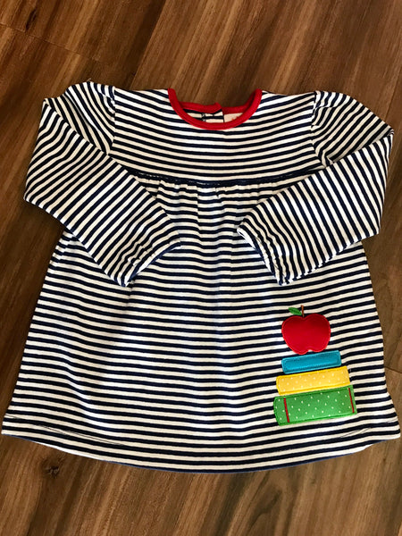 Books w/Apple L/S Swing Top Luigi Kids