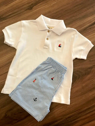 Sailboat Emb. Polo Luigi Kids