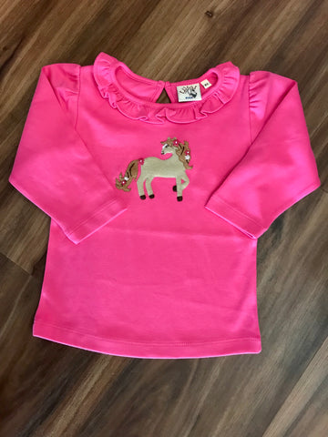 Pony w/Flowers L/S Tee Luigi Kids