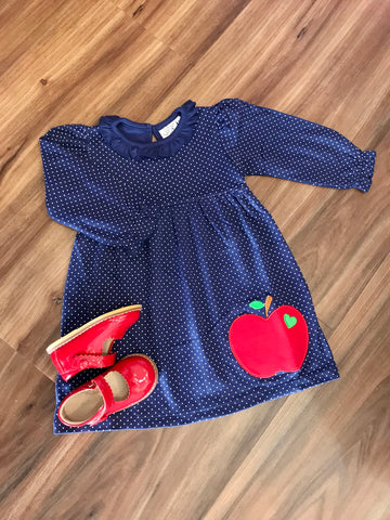 Apple L/S BB Dress Luigi Kids