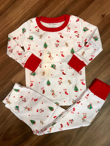 Tis the Season Print 2pc Pj Months Kissy Kissy