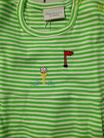 Golf S/S Romper Squiggles