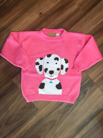 Dalmation Toddler Sweater Claver Sweaters