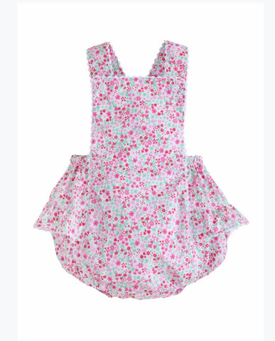 Fields of Pink Claire Sunsuit Little English