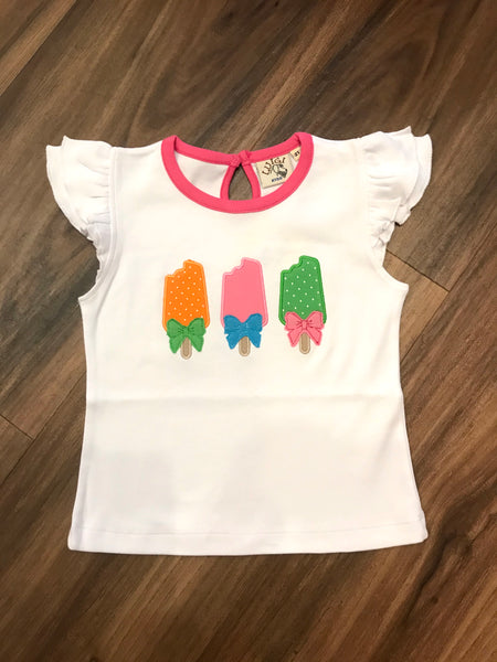 Three Popsicles S/S Tee Luigi Kids