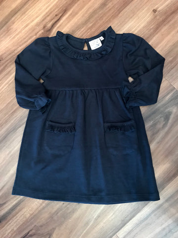 L/S Solid BB Dress w/Pockets Luigi Kids