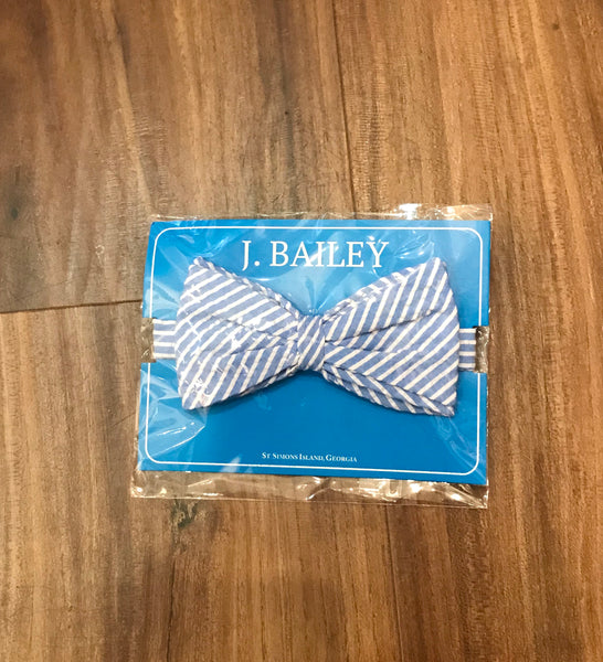 Seersucker Bow Tie The Bailey Boys