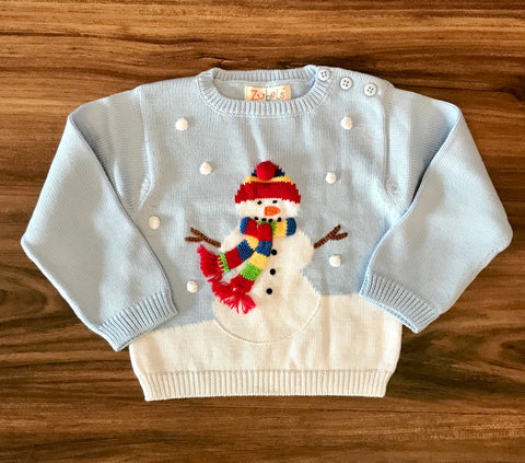 Snowman Sweater Zubels
