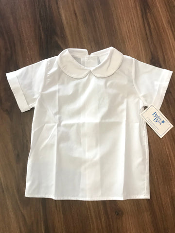 Piped Peter Pan Broadcloth Shirt The Bailey Boys